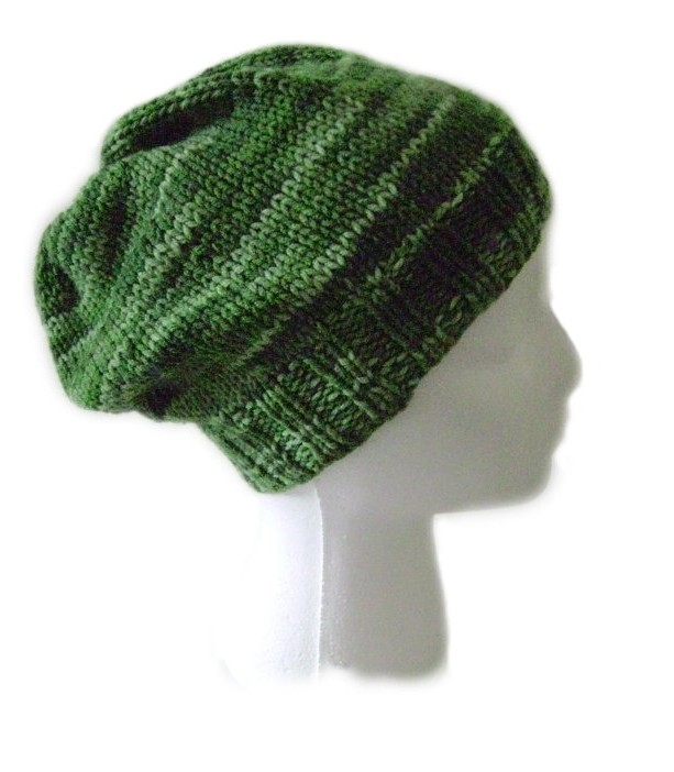 Womens Green Slouchy Hat