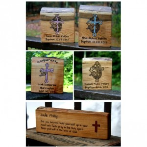 Baptism gift for Godparents- Personalized Gift - Godfather Gift- Rustic Wood Custom Sign - Confirmation Gift - Christening Gift