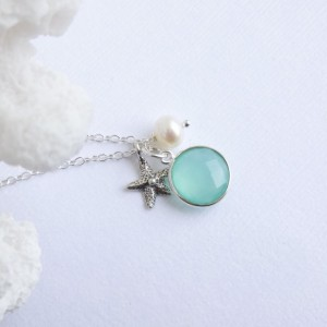 Sterling Silver Seaside Trio Necklace
