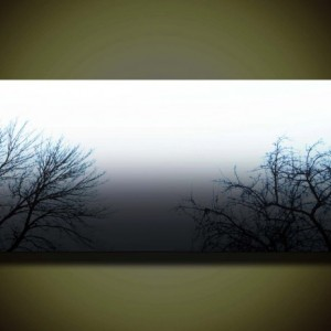 Foggy Day-------Ready To Hang Stretched Giclee On Canvas by Justin Strom Large Gallery Canvas Many Other Sizes Available!