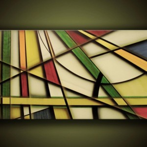 Entwined-------Ready To Hang Abstract Stretched Giclee Print On Canvas Many Sizes Available!!