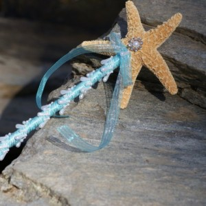 Flower Girl  Starfish Wand