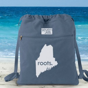 All States and Washington DC 'Roots' Canvas Backpack Cinch Sack Choose ANY State