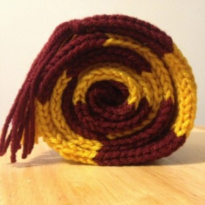 Hand Knit Harry Potter Scarf  - Toddler / small child size