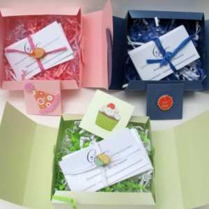 Sentimental Expressions Birthday Boxes- 10 quotes and sayings on individual cards, elegantly wrapped in a beautiful designed package