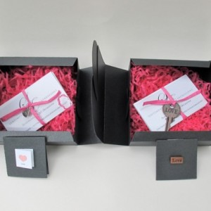 Sentimental Expressions Wedding/Love Boxes- 10 quotes and sayings on individual cards, elegantly wrapped in a beautiful designed package