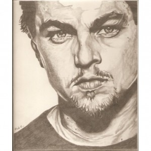 Leonardo DiCaprio original drawing