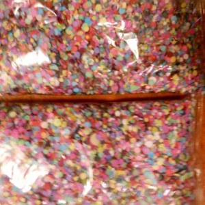 Colorful Confetti For Parties, Holidays and Any Celebration, Crafts Round Pieces -Fun!