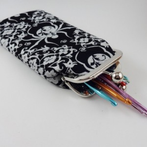 Spider Crochet Hook/Eyewear Pouch