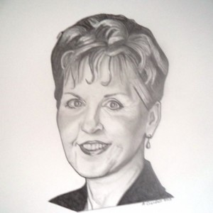 Original Joyce Meyer drawing
