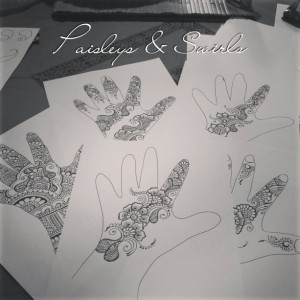 Teach yourself henna - Traceable & Reusable Design Book