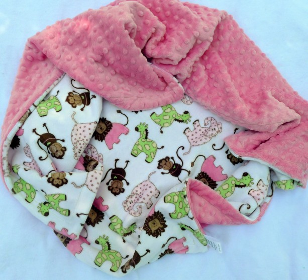 Blankets Amp Quilts Kids Bedding Minky Baby Blanket