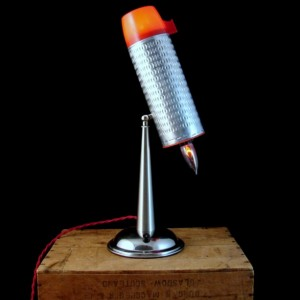 Lamp - Table Lamp - Lighting - Upcycled Vintage Thermos Light