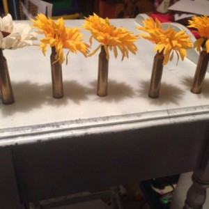 Custom shotgun shell boutonnieres