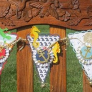 Nautical party banner - perfect touch for a fun event