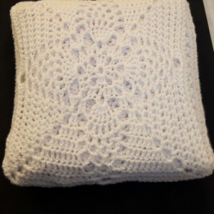 Afghan in a Pillow, Pillow Afghan, Pillowghan, Travel Pillow, Travel Blanket, Blanket in a Pillow, Heirloom Home Décor
