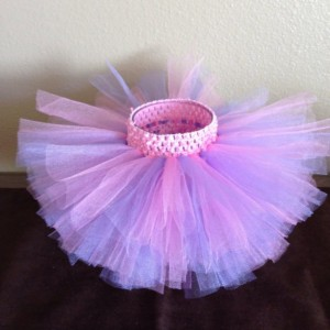 Pink and Purple Tutu, Baby Tutu, Birthday Tutu, Toddler Tutu, 1st Birthday Tutu, Infant Tutu, Newborn Tutu, Pink Tutu, READY TO SHIP, Prop