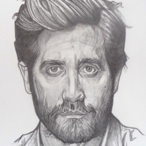 Jake Gyllenhaal original drawing