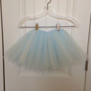 Girls Baby Light Blue Tutu-Christmas, Dress up, photos