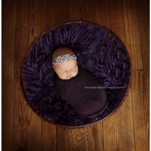 Mohair & Pearl Halo Tie Back- Newborn Photography Prop-headband-photo prop, pearl headband, newborn tie back, mohair tie back, photo prop