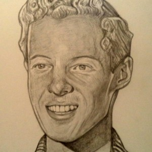 Eddie Haskell, Ken Osmond drawing