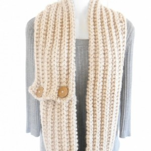 Chunky Knit Cowl - Bulky Knit Scarf - Knit Infinity Scarf - Bulky Infinity Scarf - Knit Wool Cowl - Christmas Gift for Women - Gift for Teen