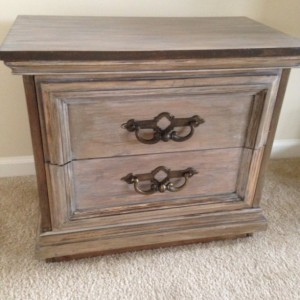 Vintage 2 drawer Night Stand