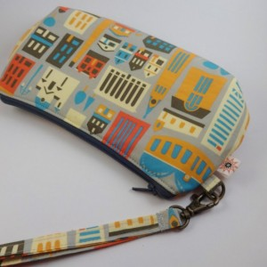 Brew City Milwaukee Wristlet