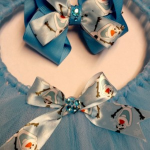 Olaf from Disney Frozen tutu