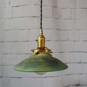 Handcrafted Pottery Hanging Pendant Ceiling Light