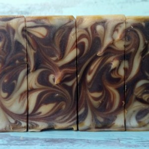 Chocolate Mouse Scented Soap with Dark Chocolate