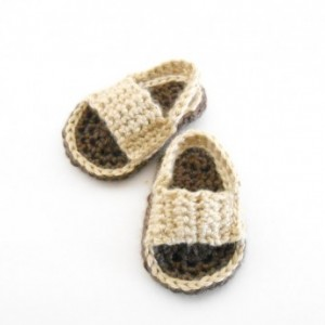Crochet Baby Sandals - Crochet Baby Soccer Sandals - Crochet Flip Flops for Babies - Brown Baby Sandals -  Crochet Baby Shoes - Baby Gift