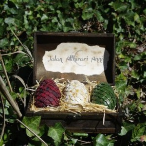 Dragon Eggs, Game Of Thrones, fantasy, Dragon Chest, Khalessi, Mother of Dragons, gift, GOT, dragons, Hobbit, Pern