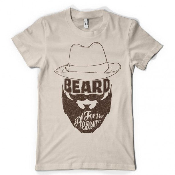Beard for Her Pleasure Adult Short Sleeve Tee Shirt  Plus Sizes available Bearded for Her Pleasure Adult, Mature content, Funny mens shirt