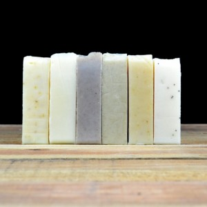 2 Pack- Lavender Chamomile Goat's Milk Soap, Handmade Soap, All Natural Soap, Cold Process Soap, Essential Oil Soap
