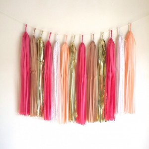 Custom XL Tassel Garland // Backdrop // Photobooth // Wedding Decor // Home Decor