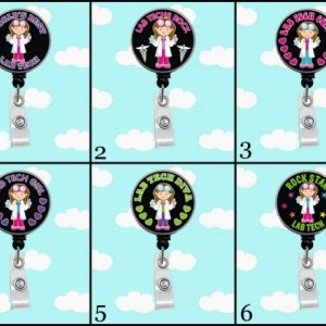 Lab Tech Girl Badge Reel