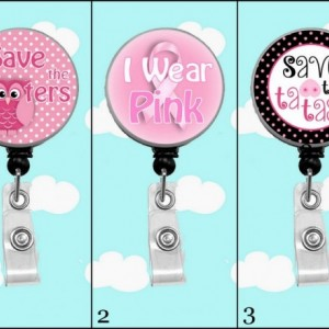 Breast Cancer Awareness Badge Reel