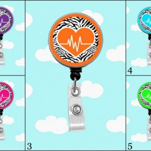 Heart Beat Badge Reel