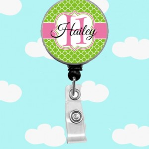 Morocan Name Badge Reel