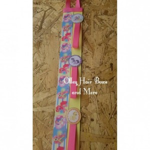 My Little Pony Inspired Accessory Hanger - My little pony hair bow holder / Hair accessories / OOAK / Headbands / Bow holder / Hair clips