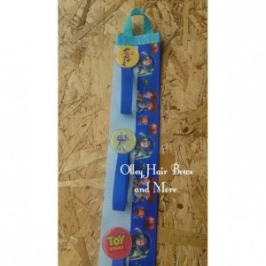 Toy Story Inspired Hair Bow Holder - Woody - Buzz - Jesse- Hair Clip Holder - Bow Holder - Bow Hanger -  Accessory Holder