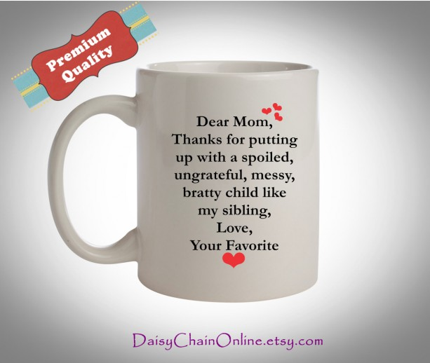 Mothers Day Gift Coffee Mugs, Gift for Moms, Coffee Mug, Thanks f ...