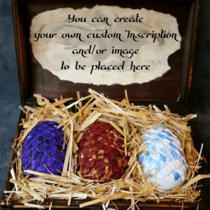 Dragon Eggs, Game of Thrones, Pern, The Hobbit, Fantasy, custom made, dragon chest, dragon, gift, khaleesi, smaug, mother of dragons