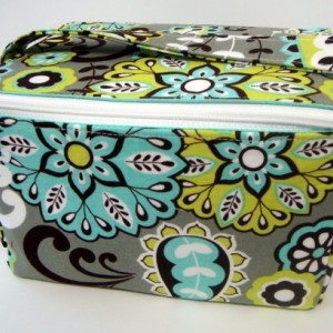 Super Large 6 inch Depth Fabric Coupon Organizer  - With ZIPPER CLOSER Choose Your Fabric -  Group Three