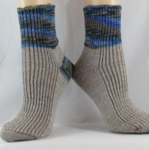 Mismatched Shorty Hand Cranked Socks-Free Shipping