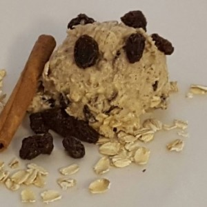 Edible Oatmeal Raisin Cookie Dough /  gift / fun unique present