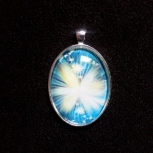 Butterfly of Light Silver Pendant