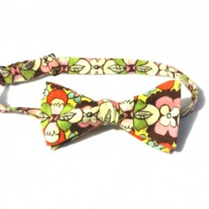 Autumn Flowers Bow tie