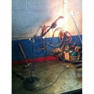 Machine Age Inspired Floor Lamp